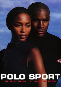 Naomi Campbell and Tyson Beckford in a Polo Sport ad.  23 Iconic Moments From Ralph Lauren on Yahoo Style