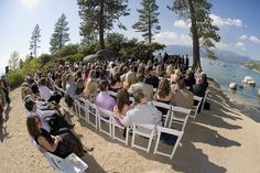 Lake Tahoe's Sand Harbor Beach offers year round weddings. San Harbor Beach is located in Incline Village, Nevada and is the most photographed beach in the Lake Tahoe area. With its sandy beaches, boat launch, picnicking areas and group use facility makes this venue a popular venue for having your wedding. Our wedding chapel does a lot of year round weddings on this scenic beach venue. San Harbor is the only Lake Tahoe beach that is open year round.
