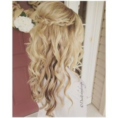 Chic wedding hairstyles for long hair. From soft layers, braids  chignons, to half up half down hairstyles, there are many options for brides to consider.