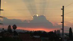 Sunset @ Guadalajara,  jalisco atardecer / puesta de sol en gdl