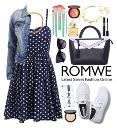 """Romwe"" by oshint ❤ liked on Polyvore featuring VILA, Keds, Marc Jacobs, Christian Dior, Paul & Joe Beaute, Kendra Scott and romwe"