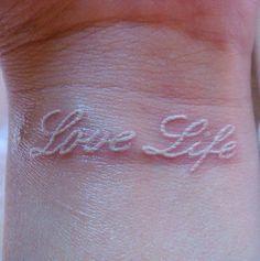 i really wanna white ink it up!