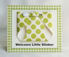 Such a great baby card!