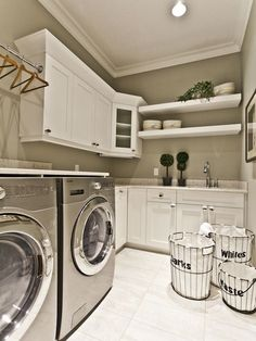 """8-Tips for a Great Laundry Room from The Everyday Home and Barb Garrett www.everydayhomeblog.com  """"Ideas for Living a Simple Life!"""""""