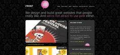 Dark Website http://www.designbyfront.com/