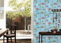 9363-21 Papírová tapeta na zeď Boys and Girls Autíčka 93632-1, velikost 53 cm x 10,05 m