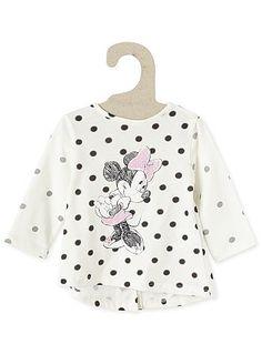 Tee-shirt coton 'Minnie Mouse'                                                                                          beige Bébé fille