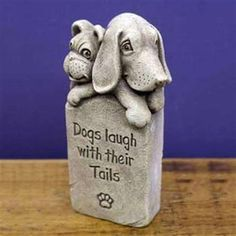 Hazelmill Dogs Laugh with their Tails Sculpture