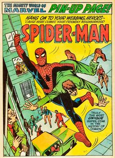 Old Comic Books, Comic Book Covers, Spiderman, Amazing Fantasy 15, Book Cover Page, Marvel Masterworks, Pin Up, Comic Book Panels, Steve Ditko