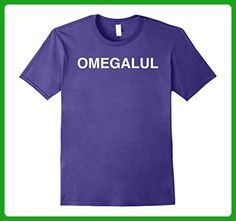 Mens OMEGALUL Shirt | Live Streaming Emote Meme Video Game Shirt Small Purple - Gamer shirts (*Amazon Partner-Link)