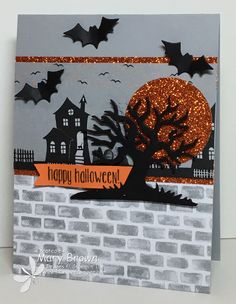 CCMC423 happy halloween by stampercamper - Cards and Paper Crafts at Splitcoaststampers