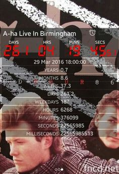 Counting down to Birmingham