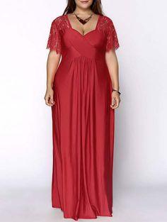 Длинные платья и сарафаны для полных женщин американской компании Rose Wholesale, лето 2017