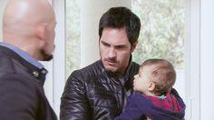 Mauricio Ochmann, Chema Venegas, furioso alzando su hijo, El Señor de los Cielos Tercera Temporada