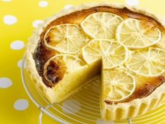 Lemon and passionfruit tart Passionfruit Tart, A Food, Good Food, Tesco Real Food, Pastry Shells, Sweet Pastries, Hot Dog Buns, Food Inspiration, Food Processor Recipes
