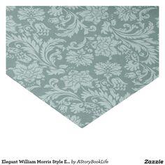 "Elegant William Morris Style English Chintz Green 10"" X 15"" Tissue Paper"