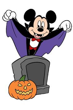 HALLOWEEN MICKEY MOUSE CLIPART