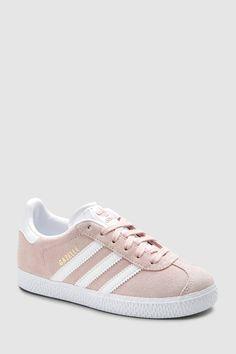 3b44546922f Girls adidas Originals Pale Pink Gazelle - Pink