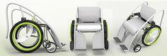 Toilet Friendly Wheelchair Design: Legup