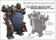 Race For The Globe - Mekanobot, Nick Carver on ArtStation at http://www.artstation.com/artwork/race-for-the-globe-mekanobot