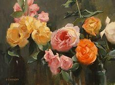 Rhapsody by Laurie Kersey Oil ~ 12 x 16