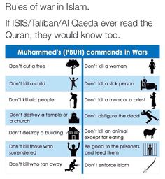 "drunxaspunx: "" stillnotchrys: "" arab-quotes: "" ""The last one alone is enough to debunk the whole premise that ISIS represents Islam. "" "" I'm going to put this on queue just incase people need. Coran Quotes, La Ilaha Illallah, Prophet Muhammad Quotes, Peace Be Upon Him, Islam Facts, Islam Meme, Leadership Quotes, Priest, Islamic Quotes"