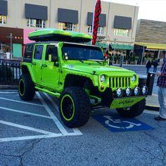 Jeep goals ¿ #jeep #wrangler #rubicon #green #beautiful #carporn #jeeporn #love #caffeineandoctane #caffeineandexotics #atlanta #georgia #atl #ga #wheels #blacklist #amazing