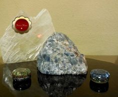 Large Blue Calcite, Rough Blue Calcite Chunk, Natural Blue Calcite, Throat Chakra, Calming and Relaxing for Empaths  This is a beautiful large raw blue calcite chunk with streaks of red calcite that measures approx 5 1/4 x 3 3/4 high x 3 1/2 wide and weights 3 lb 1.2 oz. The picture do