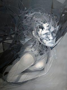 "Saatchi Online Artist Cane Dojcilovic; Painting, ""Day and Night: Omega #2"" #art"