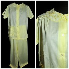 Vintage 1970's / Tommie's Brand Cotton Pajamas / by CicelysCloset