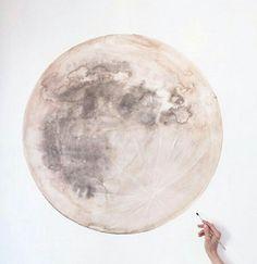 Moon mural