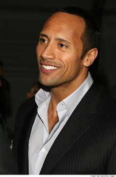 Dwayne Johnson, hotness I watched WWE just cause he was on it