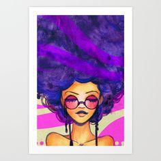 Purple+Haze+Art+Print+by+Leilani+Joy+-+$20.00