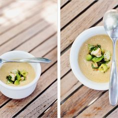 Summer Corn Soup with Shrimp recipe on Food52