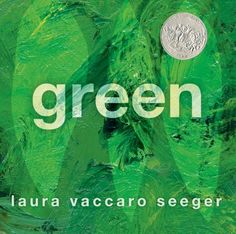 "Green by Laura Vaccaro Seeger. This will be my new go-to gift book. A gorgeous and clever book that you just have to experience. Amazon has a quick video that illustrates how it ""works."""