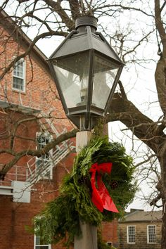 Christmas At Amana Woolen Mill 2 by Cynthia Woods