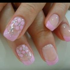 Wedding nails...maybe in purple