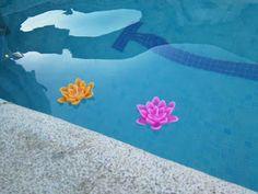 Velas flotantes