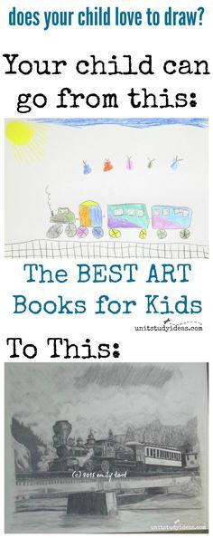 The Best Art Books for Kids @ UnitStudyIdeas.com
