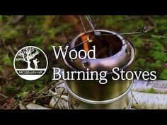 Bushcraft Fire Lighting: Woodburning Stoves - YouTube
