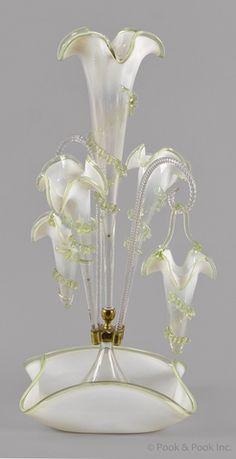 261 best EPERGNES images on Pinterest in 2018 | Cranberry gl ... Opalescent Gl Flower Vase on multicolor vase, translucent vase, metallic vase, jade vase, stevens & williams vase, elegant vase, victorian vase, lavender vase, hobnail vase, antique vase, cream vase, fluted vase, cameo vase, pyrex vase, loetz vase, pink vase, cobalt vase, ivory vase, textured vase, white vase,