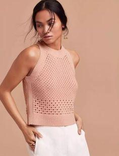summer knit vest