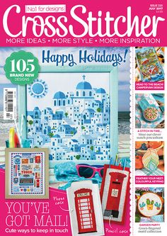CrossStitcher  Issue 320 July 2017 Zinio Saved