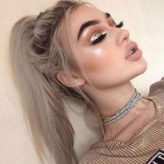 grafika makeup, girl, and fashion