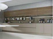 Cozinha lacada linear SYSTEM | Composition 06 by Pedini