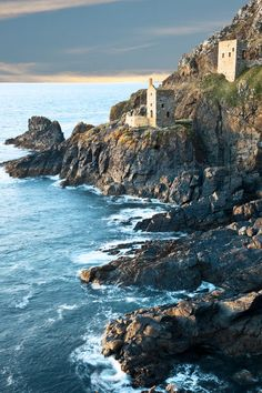 Jigsaw Puzzle-Botallack tin mine North Cornwall-500 Piece Jigsaw Puzzle made to order