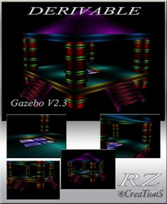 179. Gazebo V 2.3 Meshes Furniture