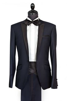 "Tuxedo suit ""By Eneroth""- Midnightblue"