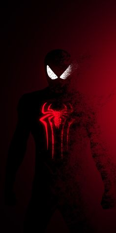 fearsome wallpaper 10802160 Spider-man Spider-Man: Far From Home dark-red fade effect art wallpaper Black Spiderman, Amazing Spiderman, Spiderman Spiderman, Marvel Heroes, Marvel Comics, Heros Film, Marvel Fanart, Thanos Avengers, Avengers Wallpaper