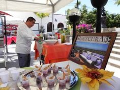The boutique hotel and spa Guaycura shows off its culinary chops at the Todos Santos Gastrovino Festival, last year, in 2012.